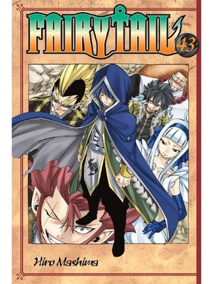 cover image of Fairy Tail, Volume 43